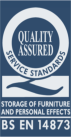 Quality Assured Service Standards - Storage of Furniture and Personal Effects - BS EN 14873