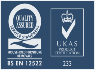Quality Assured Service Standards - Household Furniture Removals - BS EN 12522 - UKAS Product Certification 233
