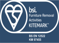 Kitemark - Domestic Removals - BS EN 12522 - KM 97455